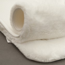 Koberec Bellarosa biely